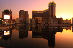 Venetian Sunset ( Macau) (Mel Mijares) Tags: china sunset tourism night reflections hongkong canal luca san disneyland mel nightlife hotels f3 macau luxury happyvalley suites cathie tyrone taipa tigerairways luxuryhotel macaugrandprix lasvegassands macaumuseum venetianmacau venetianmacao macaubeer macauhotel macausunset jetsar macauchurches hoteldiscount macautours macauheritage macaunightlife parangtubiglang taipamacau isnab