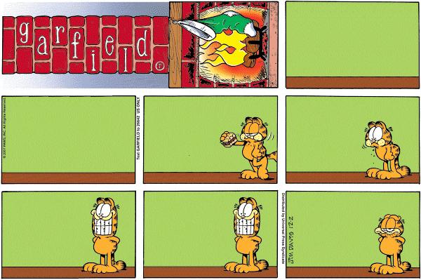 Garfield Minus Arbuckle, December 2, 2007