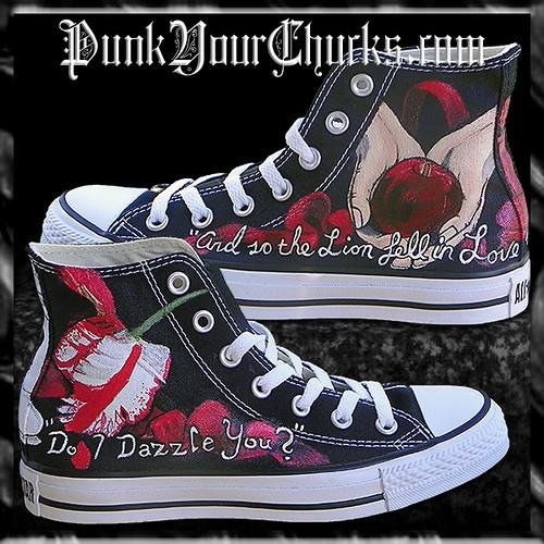 Twilight Converse by punkyourchucks.