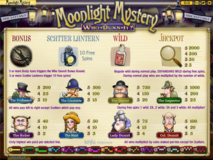 free Moonlight Mystery slot mini symbol