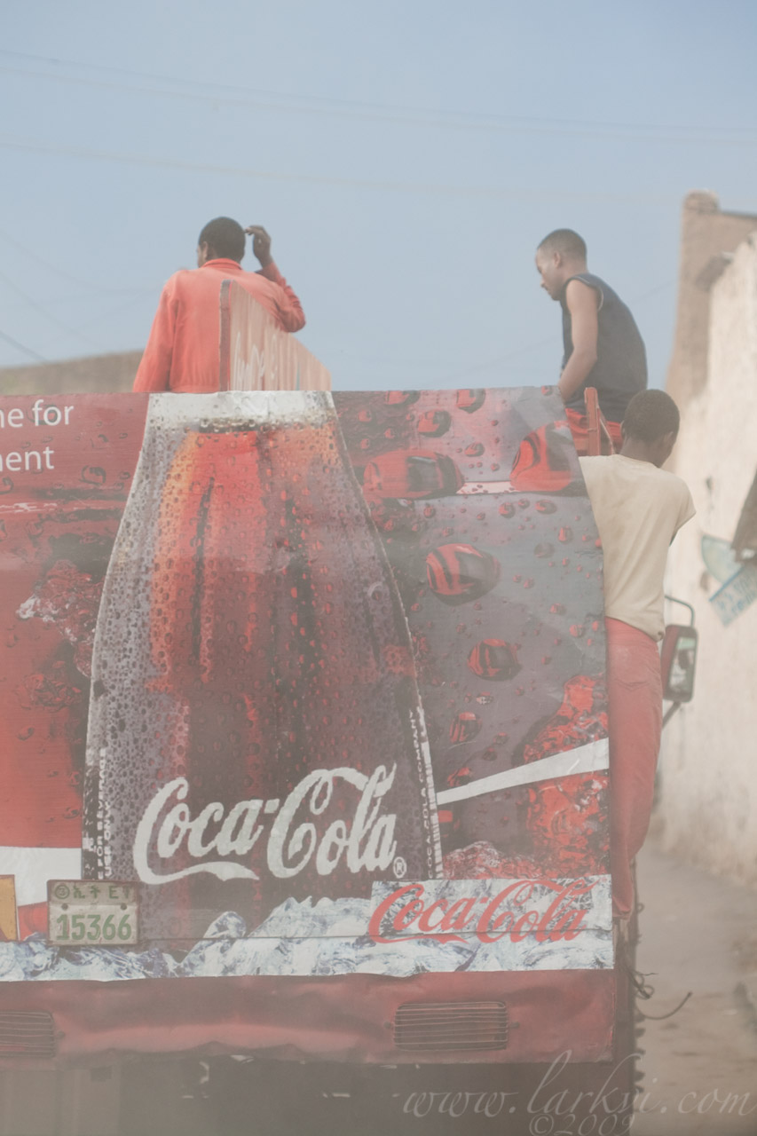 """Follow me for refreshment"" #2, Harar, Ethiopia, 2009"