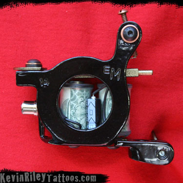 14 of 2009 - Hand Made Custom Tattoo Machines by Kevin Riley - More at