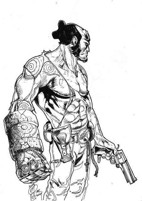 Hellboy rocketraygun