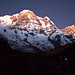 Annapurna South Peak before Sunrise