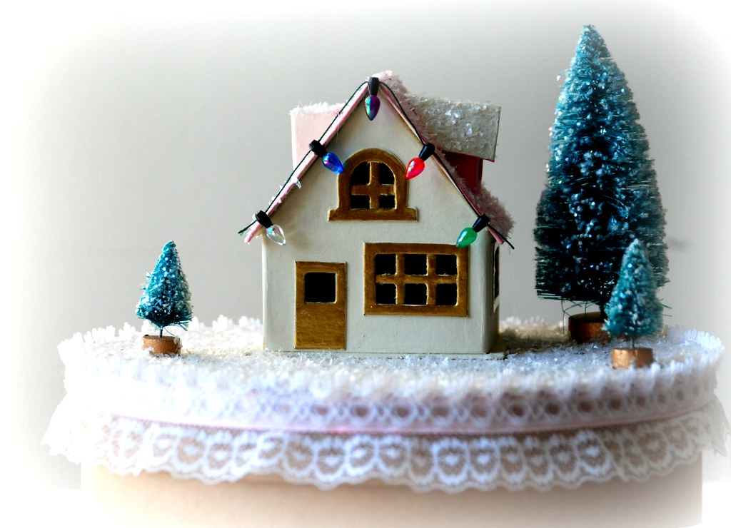 Shabby Chic Wintry Cottage