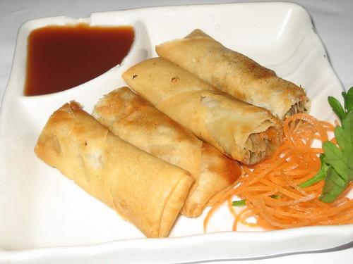 spring rolls at a penang affair