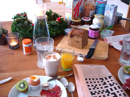 advent breakfast