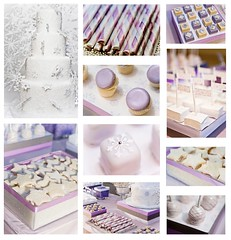 Lavender inspired dessert table (ArtisanCakeCompany) Tags: wedding party holiday cake oregon portland table dessert idea different candy display unique weddingcake event bakery cutting buffet artisan bakeries fondant artisancakecompany