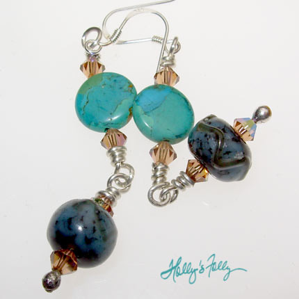 DECABS Krasner Earrings by Hollys Folly