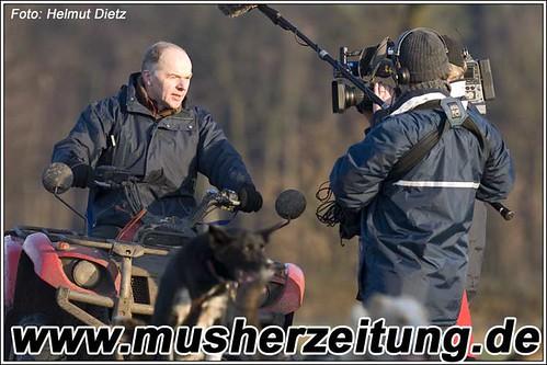 Bernhard Schuchert, Sassenberg mit WDR-TV-Team