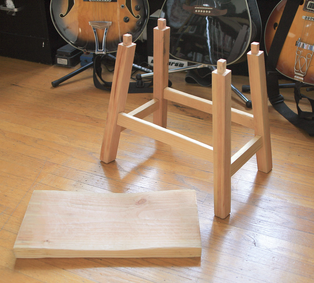 Figure  4. Angled tenons.