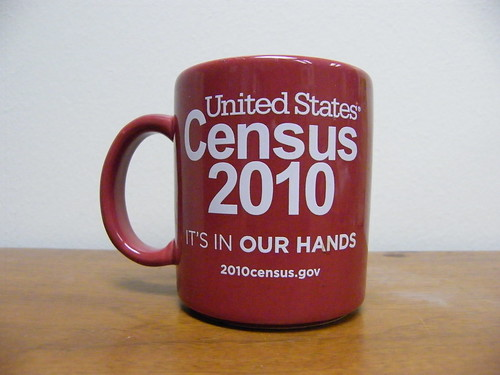 2010 Census Mug - CC image from flickr