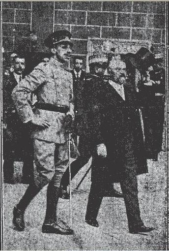 Visita de Raymond Poincaré y Alfonso XIII a Toledo en 1913. Foto Alfonso para El Liberal