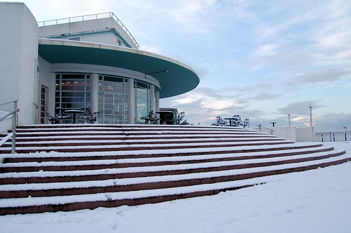 Morecambe Snow 2009