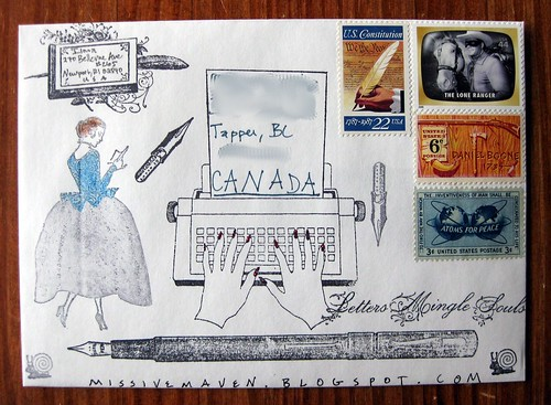 Anachronism mail art swap