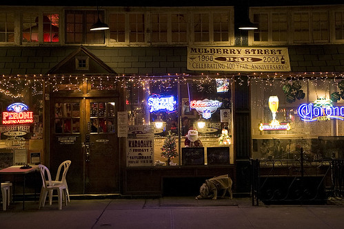 Mulberry Street Bar, NYC