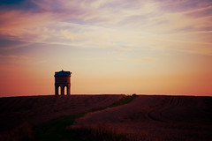 Chesterton Windmill Sunset (50%) (LindaScannell) Tags: windmill photoshop chesterton warwickshire gradientmap project365 pwdp