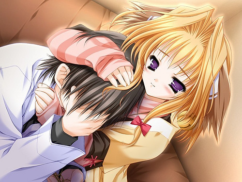 sad anime couples pictures. sad anime couple