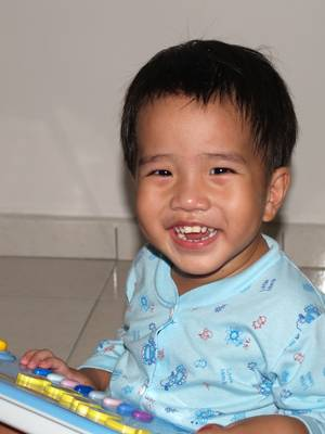 Julian smile