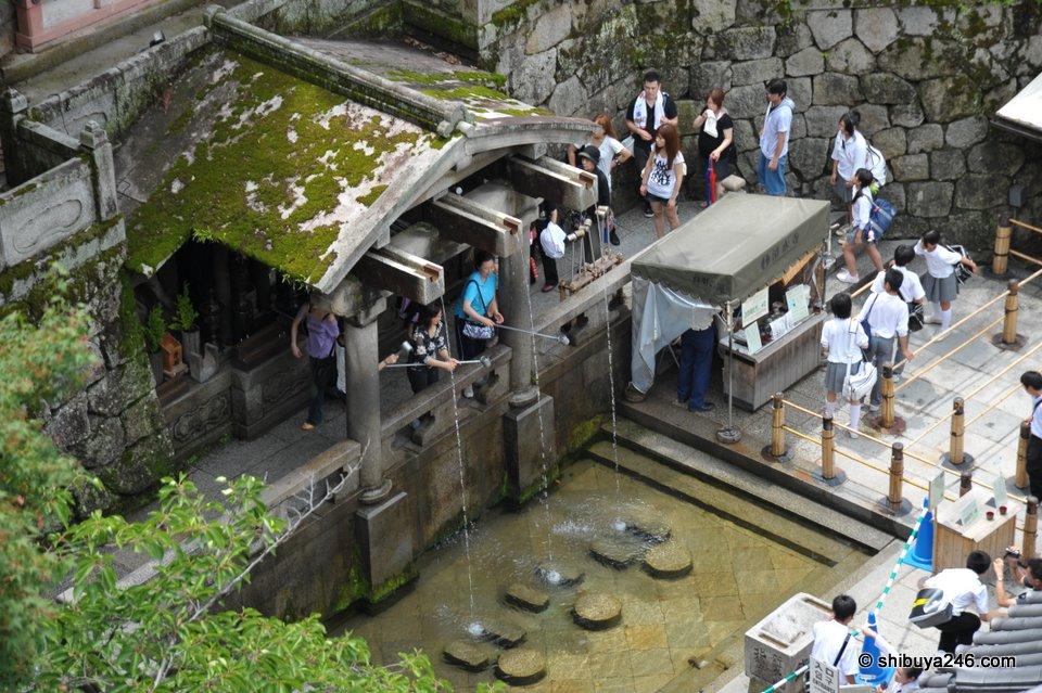 Kiyomizudera Kyoto.