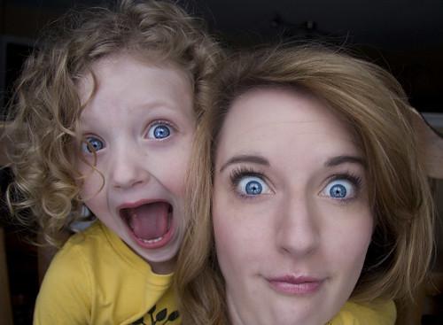 like mother like daughter.