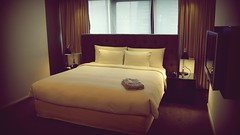 Premier Suite Bedroom - Grand Hyatt Taipei (Matt@PEK) Tags: pentax hotel hyatt grandhyatt taipei