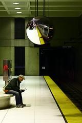 Taking the Next One (Fred Sorin) Tags: sf sanfrancisco california ca city urban station underground subway 50mm reader metro muni fredsorin