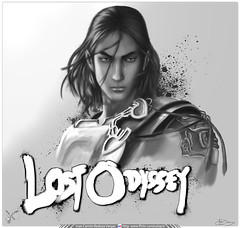 Ilustracin Digital en Photoshop CS4 /Kaim Argonar / Lost Odyssey / Xbox 360 / Proceso de Composicin + Detalles (Juan Camilo Bedoya Vargas) Tags: light blackandwhite game xbox360 color art blancoynegro illustration digital pencil cat photoshop painting wonder lost lights sketch eyes glow shadows arte digitalart manga xbox 360 digitalpainting gato painter gata videogame gatitos princes odyssey juego hermosa wacom medellin beatiful pintura gatito videojuego brillo ilustracin boceto colorization photopaint tierna shadowlight perfecta proceso speedpainting kaim fotopintura colorizacin artmaster procces lostodyssey kaimargonar argonar catapiz camilobedoya camyzeta ilustracindigitalluces