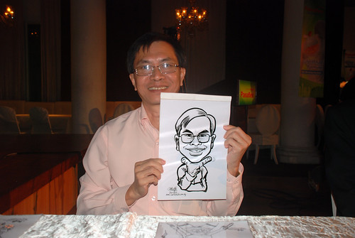 Caricature live sketching for GSK -13