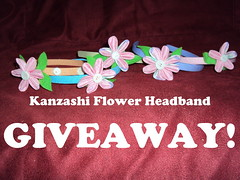 kanzashi giveaway!