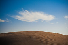 Desert Wallpaper (l ptit lucin) Tags: blue wallpaper sky texture textura beach azul clouds landscape uruguay sand nikon playa paisaje arena cielo nubes nikkor 50mmf18d maldonado fondodepantalla nikkor50mmf18d puntacolorada d300s nikond300s