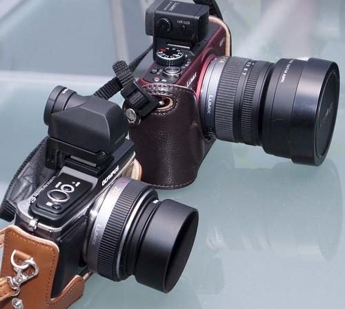 E-P2 GF1 20mm f1.7 7-14 f4 zoom