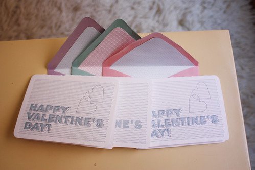Letterpress Valentine