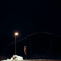 Park City, Utah (laurenlemon) Tags: winter snow cold me night interestingness streetlamp breath explore sundance frontpage 2010 parkcityut explored canoneos5dmarkii laurenrandolph laurenlemon highisosundance2010