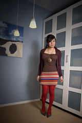 taste the rainbow (bethantics) Tags: fashion wardrobe redtights whatiworetoday dailyoutfits