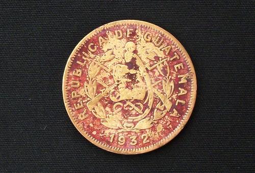 Dos Centavos de Quetzal (Reverso)