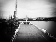 Day 34 365/2010 - View from the Bridge (Richard Reader (luciferscage)) Tags: bridge boat nikon ship february freighter 2010 0302 samsungi8910 richardreader 3652010 20100203 birkatransporter chathamdock