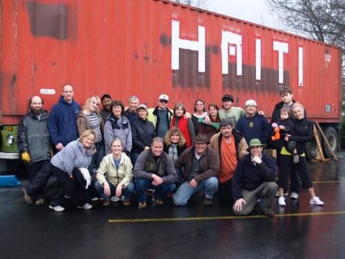 haiti relief - Portland-Haiti relief container