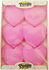 squishy Peeps hearts