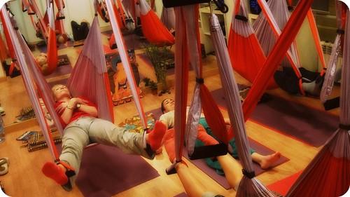 Descubre el Yoga Swing (Yoga en el Aire), Nuevo en Madrid!