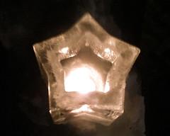 .::star::. ice lantern