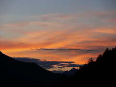 Sunset in Fendels - Austria (Soeradjoen) Tags: travel sunset mountains nature clouds austria oostenrijk zonsondergang natuur wolken bergen tyrol cloudscapes reizen fotocommunity fendels