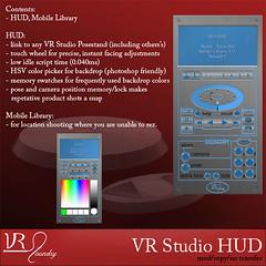 VR Studio hud