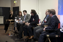 State of the UK search industry panel at SES L...
