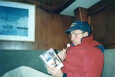 880530 Researching Myth (rona.h) Tags: 1988 may cloudnine robinsoncrusoe ronah robinsoncrusoeisland juanfernandezisland rogerswanson