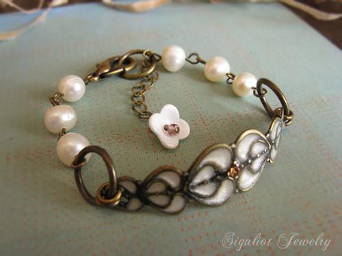 Victorian Bridal Bracelet