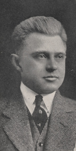 Evan Lawrence Mahaffey 1918 by UA Archives  Upper Arlington History