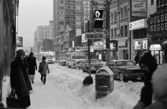 Scan10724cc (citatus) Tags: street winter bw toronto canada storm minolta theatre uptown 102 yonge 1970s 1977 bloor 1976 srt
