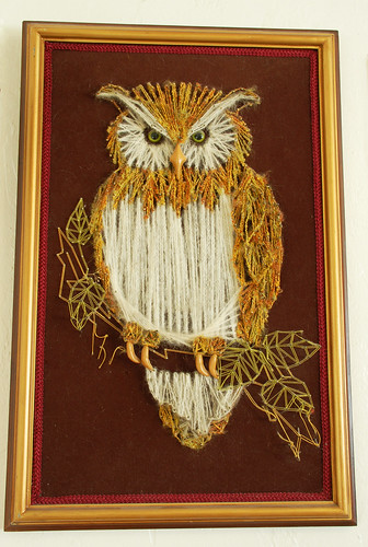 yarn owl