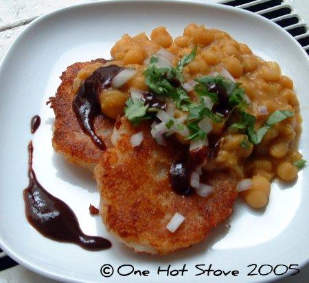 One Hot Stove: Street Food: Ragda Patties